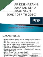 Standar Kesehatan & Keselamatan Kerja Rumah Sakit (