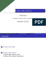 Efecto Hall Cuántico