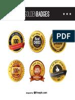 Gold Badges