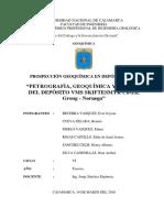 Prospección Geoquímica en VMS FINAL