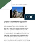 In the Praise of Hadrat Haji Ali Bukhari