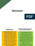 TITRASI NITRIMETRI