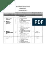 Planificare Calendaristica Ed. Financiara