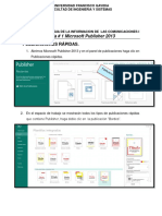 Guia 1 de Publisher 2013