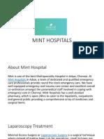 Best Laparoscopy hospital in Chennai-Mint Hospital