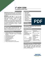 MasterBrace ADH 2200