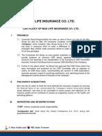 Csr Policy Fy15