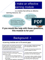 How to Make an ELearning Module