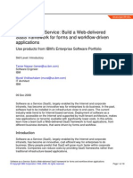 Software as a Service - Build a Web-Delivered SaaS Framework for Forms and Workflow-driven Applications