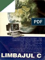 LIMBAJELE C SI C++ PT INCEPATORI -vol-1