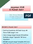 3. Manajemen SDM RS