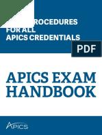 Apics Exam Handbook