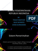 Presentasi Sistem Pemerintahan