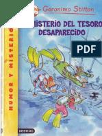 El Misterio Del Tesoro Desaparecido - Geronimo Stilton