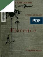 Florence by Gebhart, Emile, 1839-1908