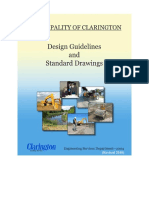 Engineering Design Guidelines and Standard Drawings