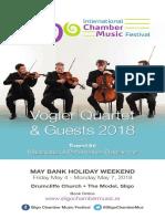Sligo ICMF 2018 Brochure