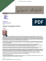 Anayasa Tartışmaları Üzerine » Keyfiyet Mahfili