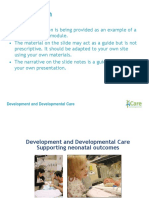 FICARE Development and Developmental Care Edited