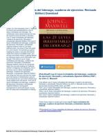 Leyes Irrefutables Liderazgo Cuaderno Ejercicios eBook PDF Dda7c851e