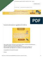 Fuente de Alimentacion Regulable de 0 a 90v 5a - Electrónica y Circuitos - YoReparo