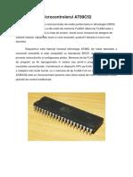 Referat ICA - Microcontrolerul AT89C52