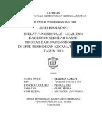 Laporan Pd Diklat E-learning Copy