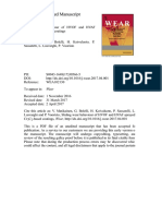 Sliding Wear Behaviour of HVOF and HVAF Sprayed Cr3C2-Based Coatings
