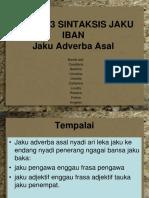 Bibb3033 Sintaksis Jaku Iban (Jaku Adverba Asal)