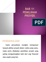 (11)Bab 11 Pemilihan Proyek