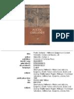 Gutzwiller, Poetic Garlands. Hellenistic Epigrams in Context