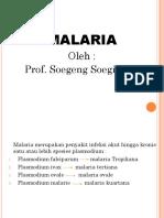 Presentation Malaria