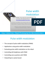 Mbed Course Notes - Pulse Width Modulation