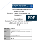 Didactic Design of Acf