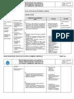 2. Caracterización Del Proceso de Admisión y Matrícula