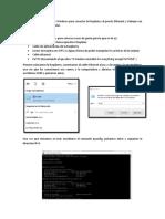 Como Configurar Un PC Con Windows Para Conectar La Raspberry Al Puerto Ethernet y Trabajar Con Ella Desde El Propio Ordenador