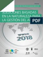 INFORME SOBRE EL DESARROLLO MUNDIAL DEL AGUA 2018