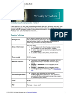 Virtually Anywhere Lesson Plan Episodes 1 and 2
