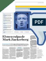 El Mea Culpa de Mark Zuckerberg