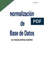 2011 Normalizacion Bd