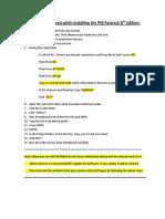 How to Install Rita 8 Exam Software