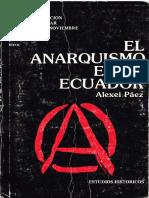 El Anarquismo en El Ecuador Alexei Paez