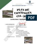 Plan de Contigencia - 2015