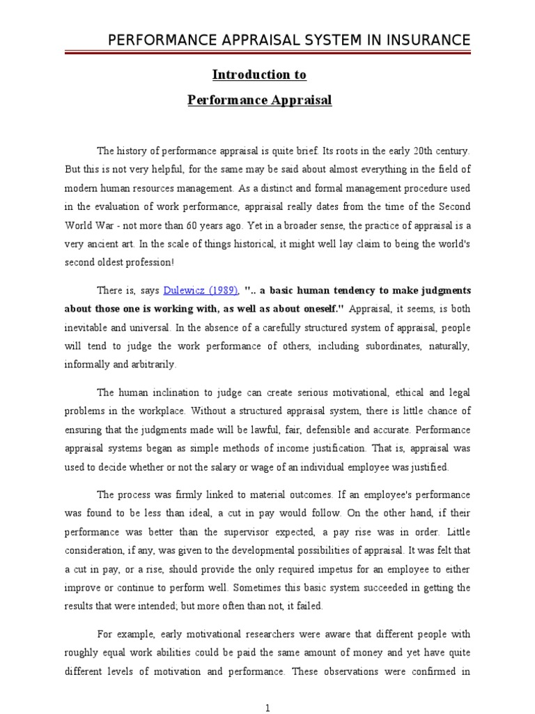 performance appraisal template word – Free Performance Review Templates