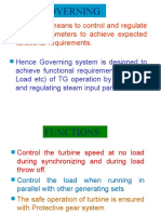 Turbine Governing 600MW