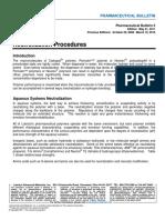 Bulletin 05 - Neutralization Procedures