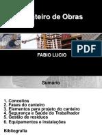 Aula Canteiro de Obras Sao Paulo