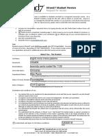 Strand7 Student Version Application