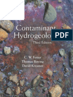 C. W. Fetter, Thomas Boving, David Kreamer-Contaminant Hydrogeology-Waveland Press (2017)
