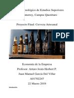 cerveza artesanal - proyecto micro